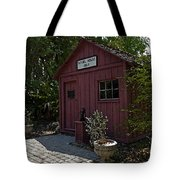 Little Red Schoolhouse Four Tote Bag