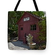 Little Red Schoolhouse Three Tote Bag