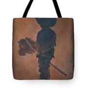 Little Rider Tote Bag by Leslie Allen