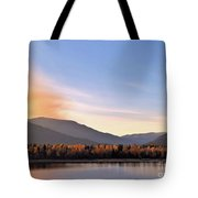 Little River In The Fall 2 Tote Bag