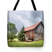 Little Rustic Barn, Adirondacks Tote Bag by Gary Heller