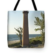Little Sable Point Light Tote Bag