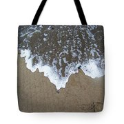'little Sails' In The Surf Tote Bag