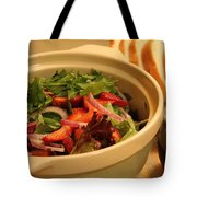 Little Salad Little Wine Tote Bag