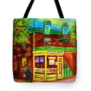 Little Shop On The Corner Tote Bag