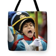 Little Soldier V Tote Bag