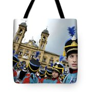 Little Soldiers Iv Tote Bag