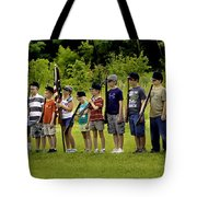 Little Soldiers Tote Bag