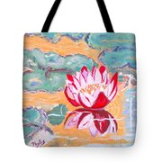 Little Water Lilly  Tote Bag
