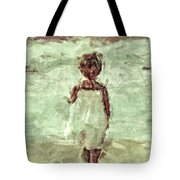 Little Wave-watcher Tote Bag