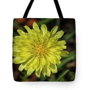 Little Wild Yellow Tote Bag