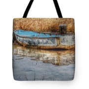 Little Wooden Boat Tote Bag