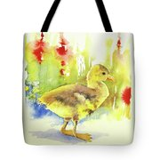 Little Yellow Duck Tote Bag