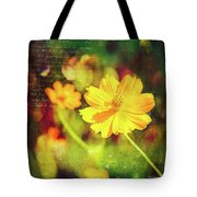 Little Yellow Flowers Tote Bag