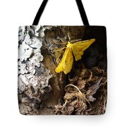 Little Yellow Moth Tote Bag