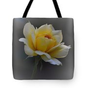 Little Yellow Rose Tote Bag
