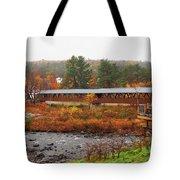 Littleton Nh Covered Bridge Tote Bag