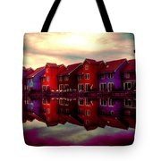 Live And Reflect Tote Bag