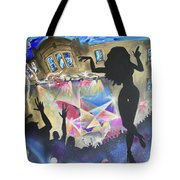 Live At The Jelly Tote Bag