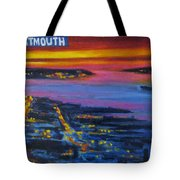 Live Eye Over Dartmouth Ns Tote Bag