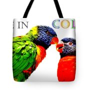 Live In Color Tote Bag
