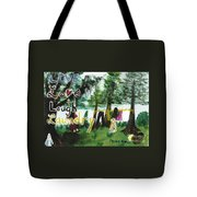 Live, Love, Laugh, Laundry Tote Bag