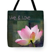 Live N Love - - 0333-15a Tote Bag