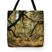 Live Oaks Silhouette Tote Bag