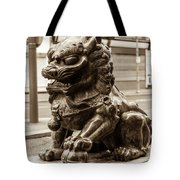 Liverpool Chinatown - Chinese Lion A Tote Bag