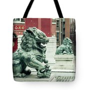 Liverpool Chinatown - Chinese Lion D Tote Bag