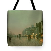 Liverpool Docks From Wapping Tote Bag