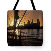 Liverpool, England View From Albert Dock Tote Bag