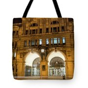 Liverpool Exchange Railway Station By Night Tote Bag