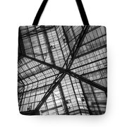 Liverpool Street Station Glass Ceiling Abstract Tote Bag