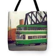 Liverpool Tram 1953 Tote Bag