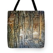 Livery Stable Work Bench - Virginia City Montana Tote Bag