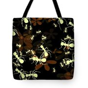 Lives Of Ants Tote Bag