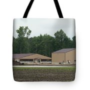 Livestock Farming Construction And Expansion Tote Bag