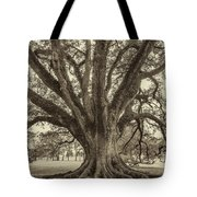 Living History Sepia Tote Bag