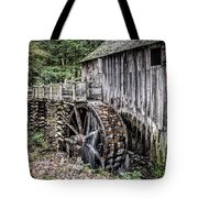 Cable Mill Gristmill - Great Smoky Mountains National Park Tote Bag