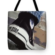 Living In Converse - Hurries In Converse Tote Bag