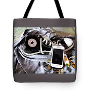 Living In Converse Resting Time  Tote Bag