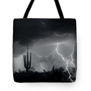 Living In Fear-signed Tote Bag