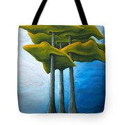 Living In The Shadow Tote Bag