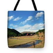 Living In The Valley Tote Bag by Angelina Vick