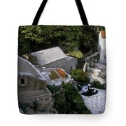 Living On The Cliffside Tote Bag