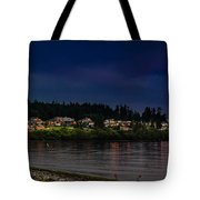 Living On The Edge Tote Bag by Blanca Braun