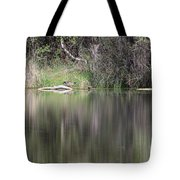 Living On The Pond Tote Bag