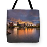 Living On The Willamette River Tote Bag