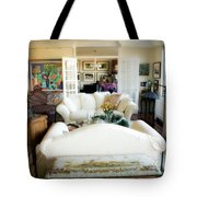 Living Room Iv Tote Bag by Madeline Ellis